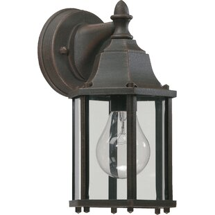 Guide to buy Mehar 1-Light Outdoor Wall Mehar By Beachcrest Home