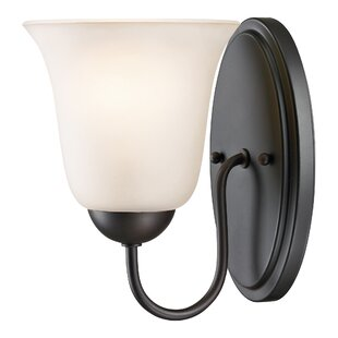 Cathy 1-Light Bath Sconce by W..
