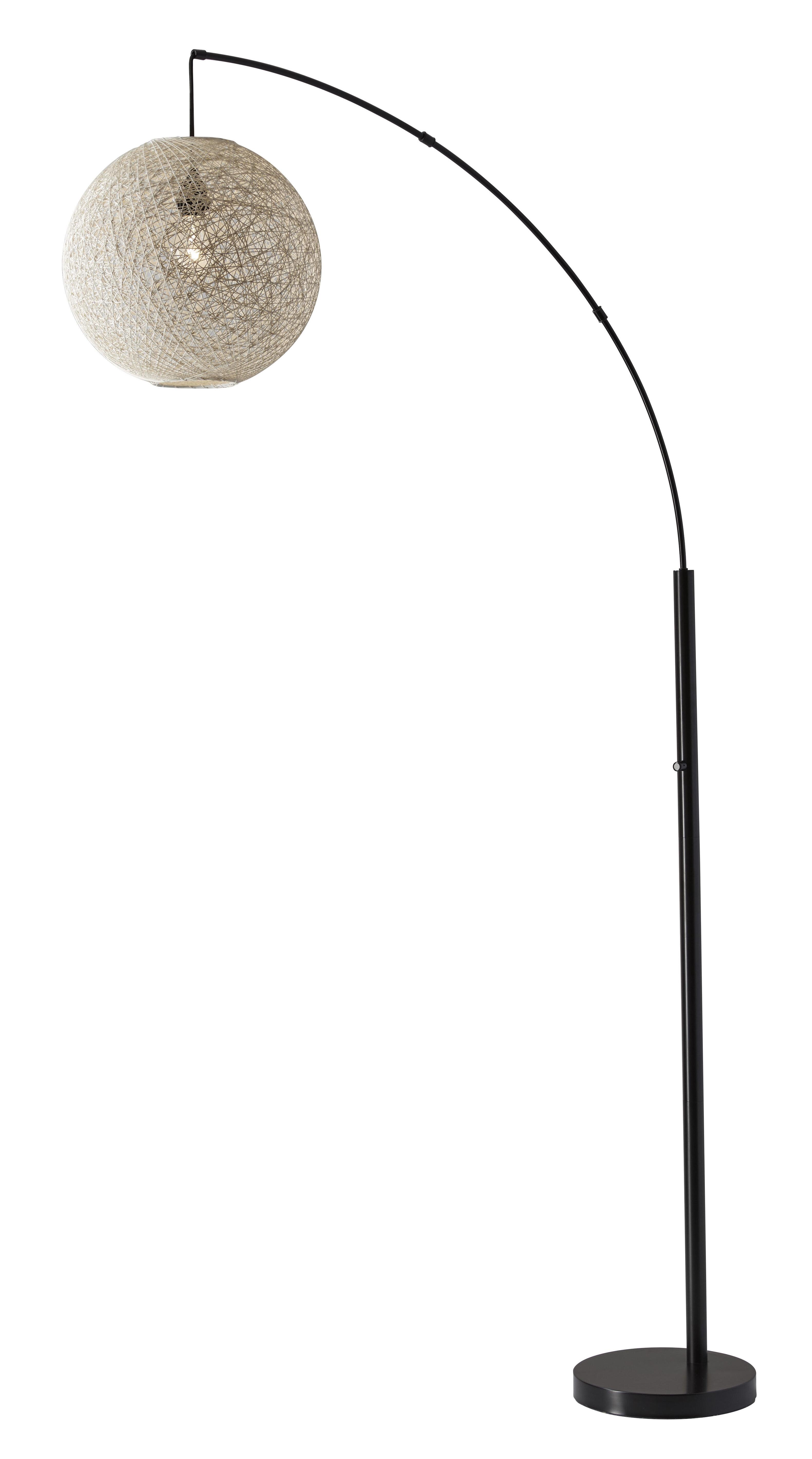 Nocera 76 5 Arched Arc Floor Lamp