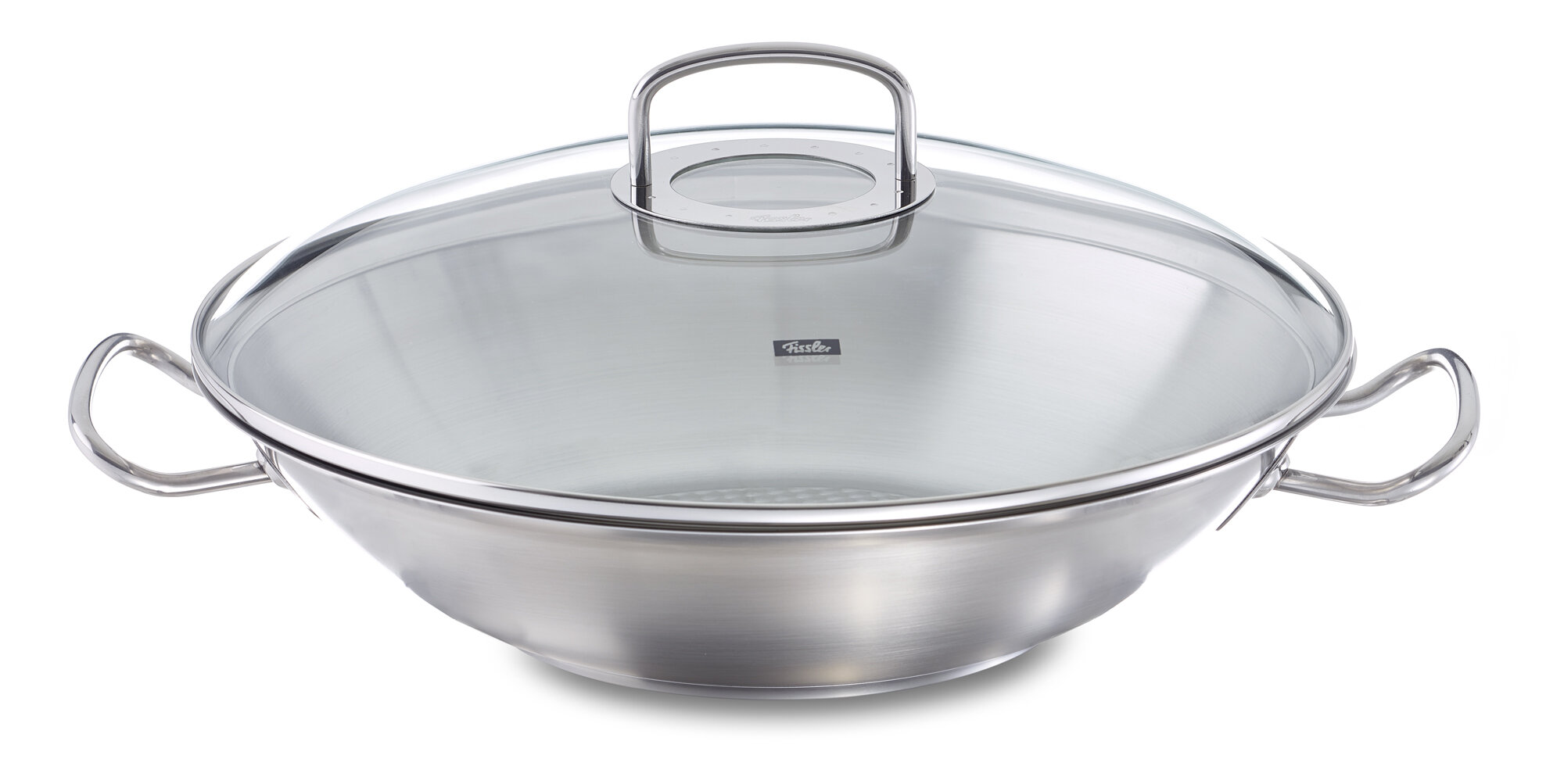 Fissler Original Profi 138 Stainless Steel Wok With Lid Wayfair