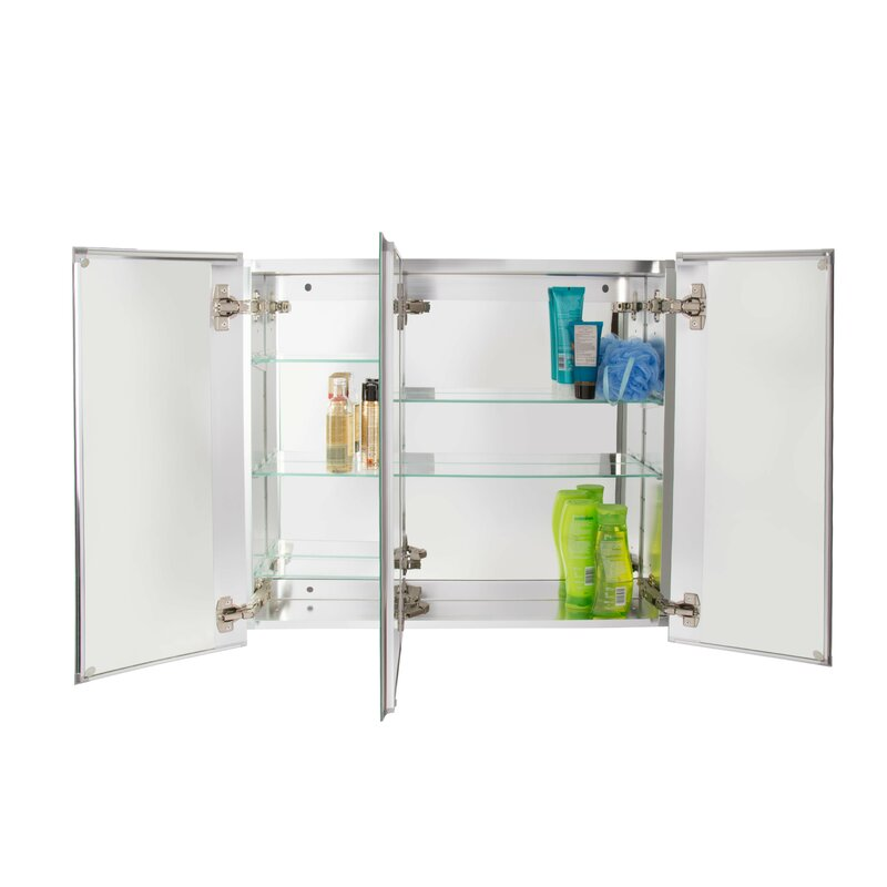 Jacuzzi 30 X 26 Recessed Or Surface Mount Medicine Cabinet Wayfair
