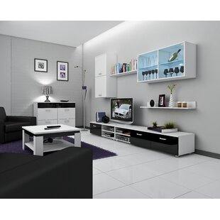 Read Reviews Bellefontaine Entertainment Center by Orren Ellis Reviews (2019) & Buyer's Guide
