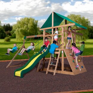 Backyard Discovery McKinley Mount Swing Set