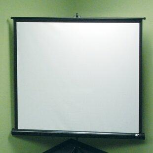 Tripod Series White 120 diagonal Portable Projection Screen by Elite Screens
