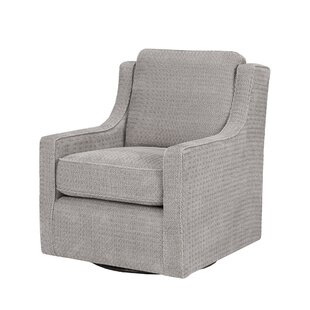 Vineland Swivel Armchair by Laurel Foundry Modern Farmhouse