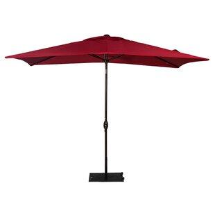 Jerrell 10' X 6.5' Rectangular Market Umbrella