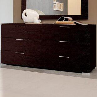 Enter 6 Drawer Double Dresser by YumanMod