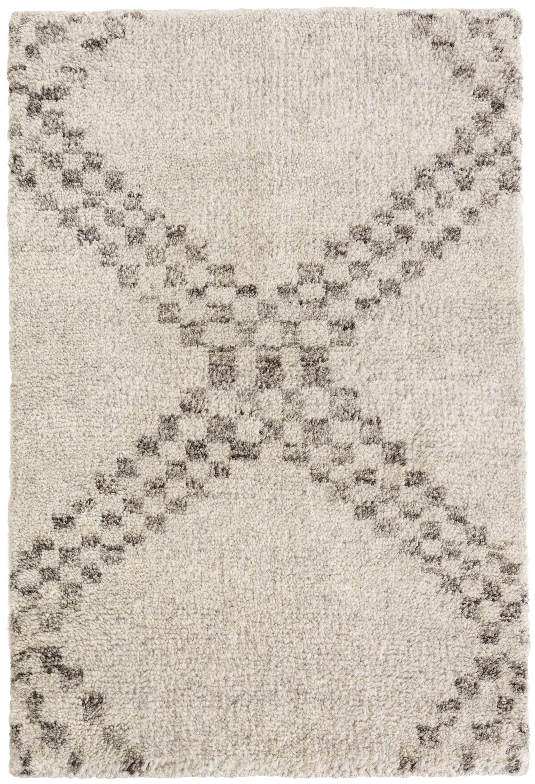 Dash And Albert Rugs Zillah Geometric Hand Knotted Gray Area Rug Wayfair