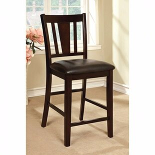 Mikael Solid Wood Dining Chair (Set of 2) Red Barrel Studio
