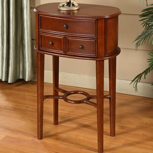 Darby Home Co Asheville Cherry End Table