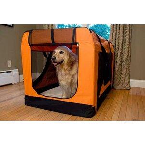 Versatile Pet Soft Crate with Fleece Mat