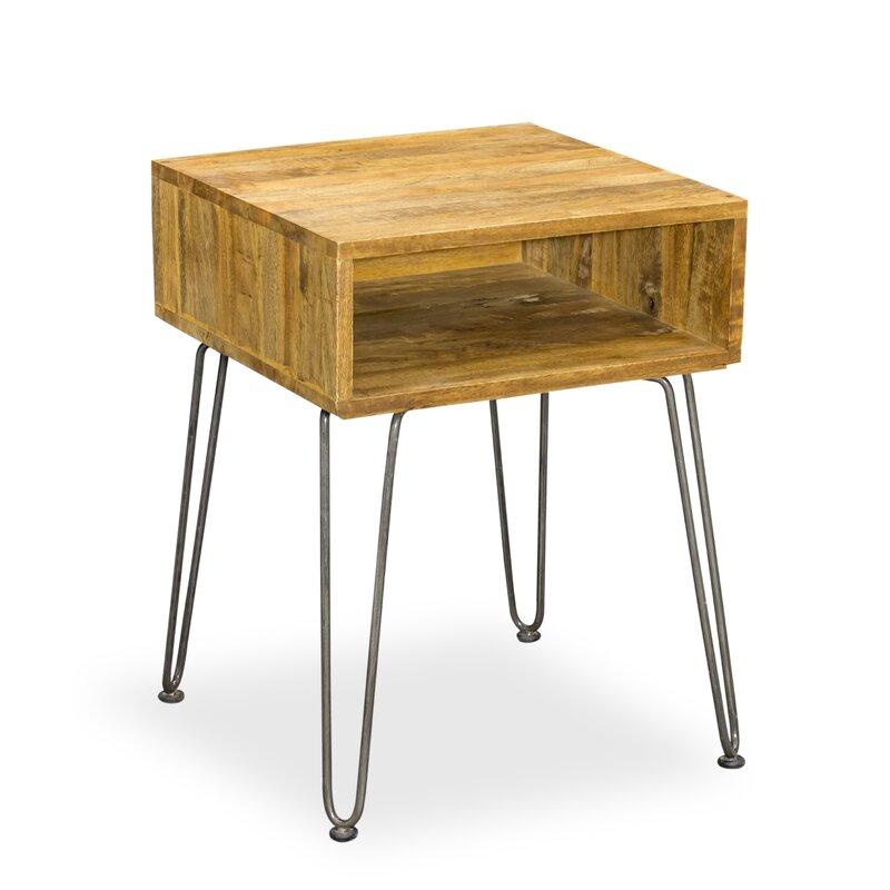 laurel foundry beistelltisch villebois mit stauraum bewertungen. Black Bedroom Furniture Sets. Home Design Ideas