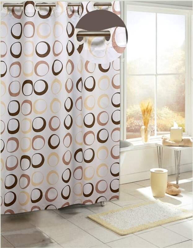 Zipcode Design Angie Circles Shower Curtain & Reviews   Wayfair