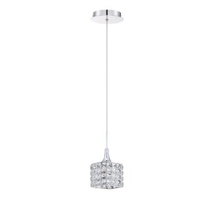 Kendal Lighting Shimera 1-Light Crystal Pendant