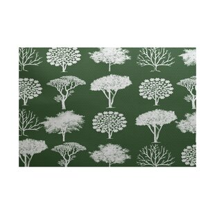 Miller Flatweave Green Outdoor Area Rug by Alcott Hill New Design