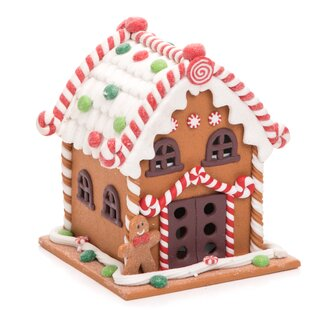 Walter Acrylic Light Up Gingerbread House