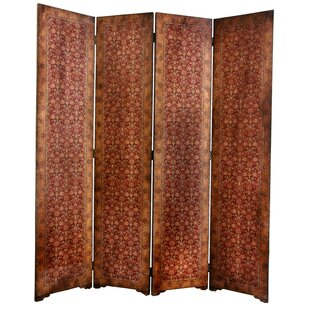 World Menagerie Clair Rococo 4 Panel Room Divider