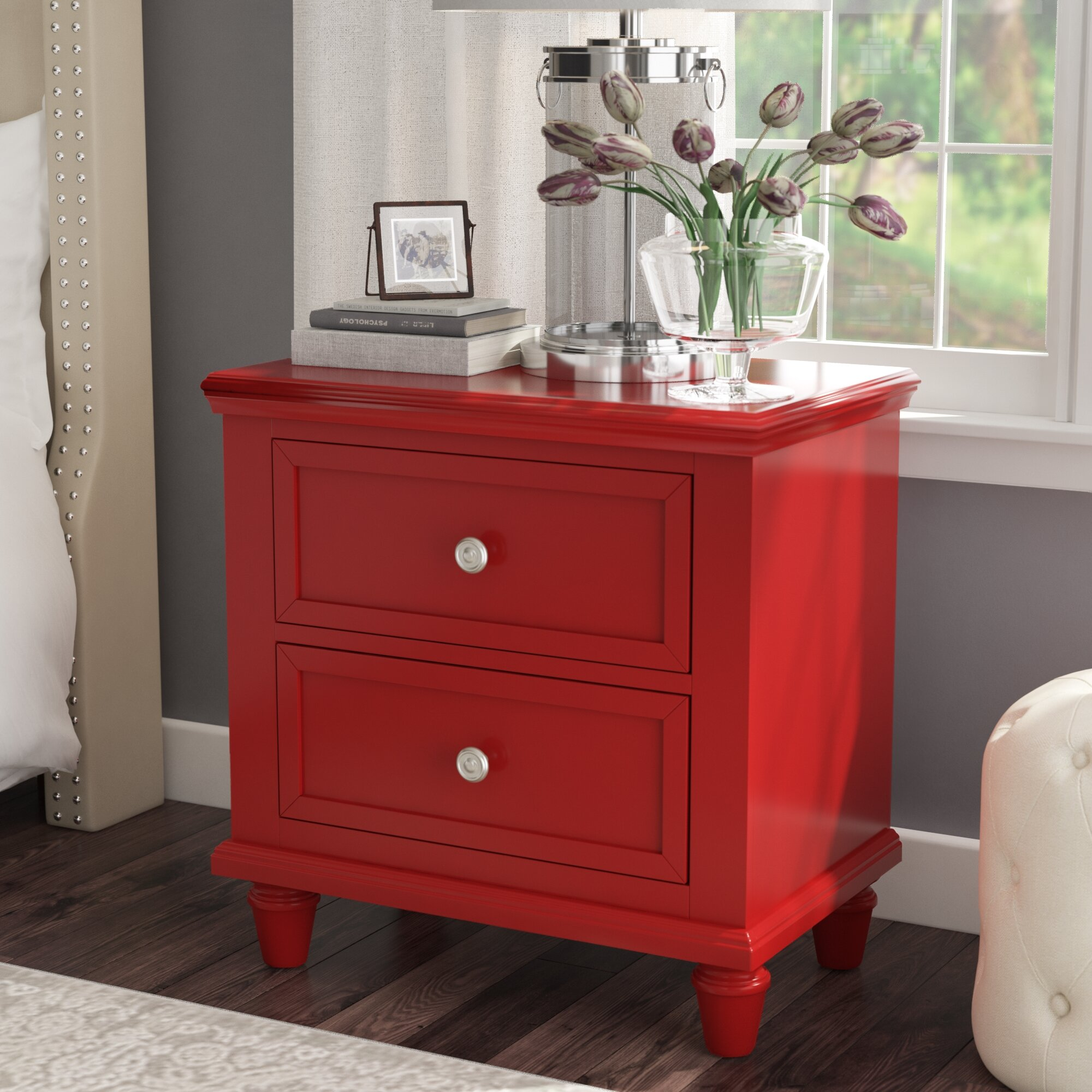Red Nightstands You Ll Love In 2020