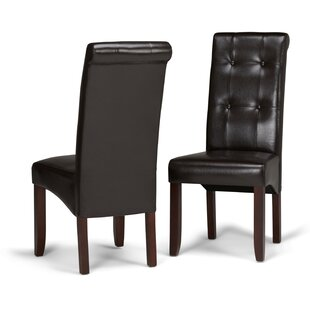 Amador Deluxe Upholstered Dining Chair (Set of 2)