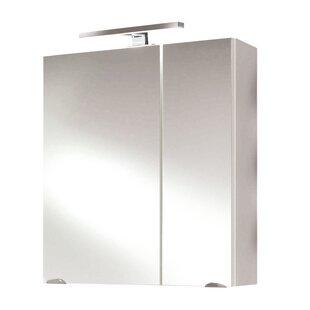 Marano 60cm X 68cm Surface Mount Mirror Cabinet By Belfry Bathroom