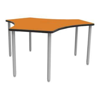 Wb Manufacturing Manta 52 X 48 Adjustable Height Novelty Activity Table Wayfair