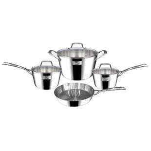 Berlin 7 Piece Dubai Stainless Steel Cookware Set