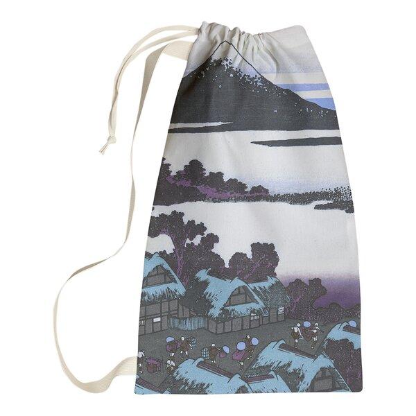 World Menagerie Dawn At Isawa In Kai Province Laundry Bag Wayfair