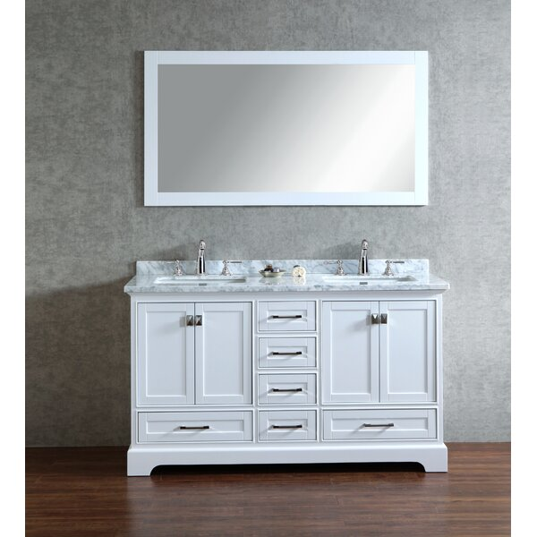 Darby Home Co Lucia Double Sink Bathroom Vanity Set With