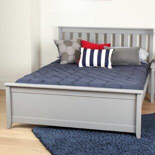 Online Reviews Janeen Solid Wood Full Platform Bed ByHarriet Bee