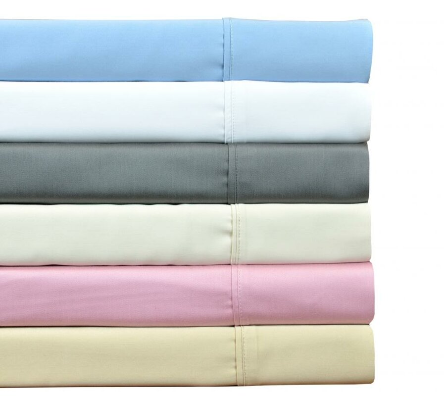 Highest thread count sheets 100 egyptian cotton percale for Where to buy the best sheets