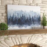'Indigo Forest' - Print on Canvas