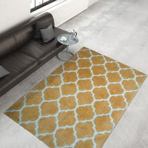 Effortless 260 Handmade Yellow Area Rug