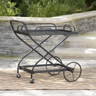 17 Stories Polak Outdoor Bar Serving Cart
