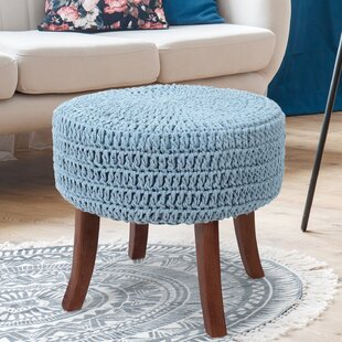 Bixby Ottoman by Highland Dunes