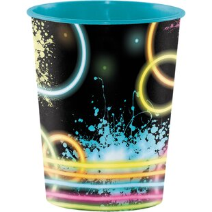 Glow Party Keepsake Plastic Disposable Cup (Set of 8)