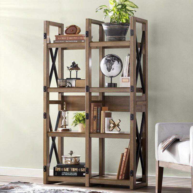 Laurel Foundry Modern Farmhouse Gladstone Etagere Bookcase ...
