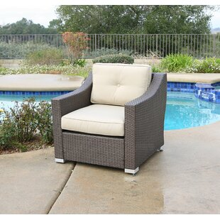 Leib Patio Chair with Cushion