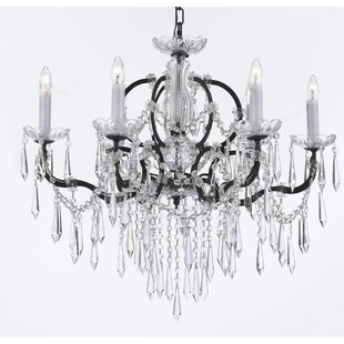 House of Hampton Kincade 6-Light Candle Style Chandelier