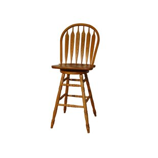 Price comparison Obadiah 29 Swivel Bar Stool by Alcott Hill Reviews (2019) & Buyer's Guide