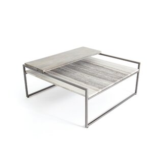 Arcade Coffee Table with Tray Top by Orren Ellis SKU:DC323600 Shop