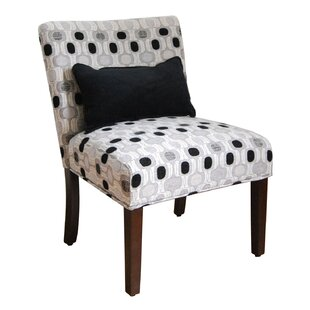 Winston Porter Locust Grove Fabric Slipper Chair