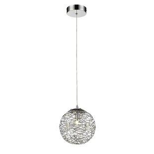 Mercer41 Lelia 1-Light Globe Pendant