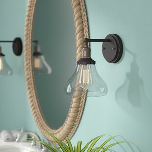 Purchase Gwendoline 1-Light Bath Sconce ByBeachcrest Home