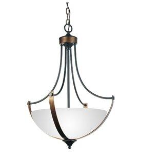 CWI Lighting Solis 4-Light Bowl Pendant