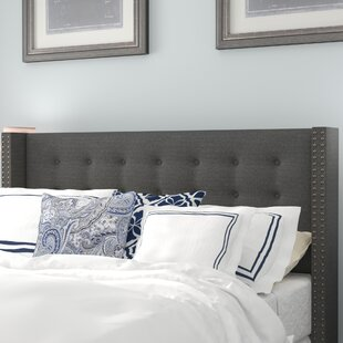 Greyleigh Schley Modern and Contemporary Upholstered Wingback Headboard