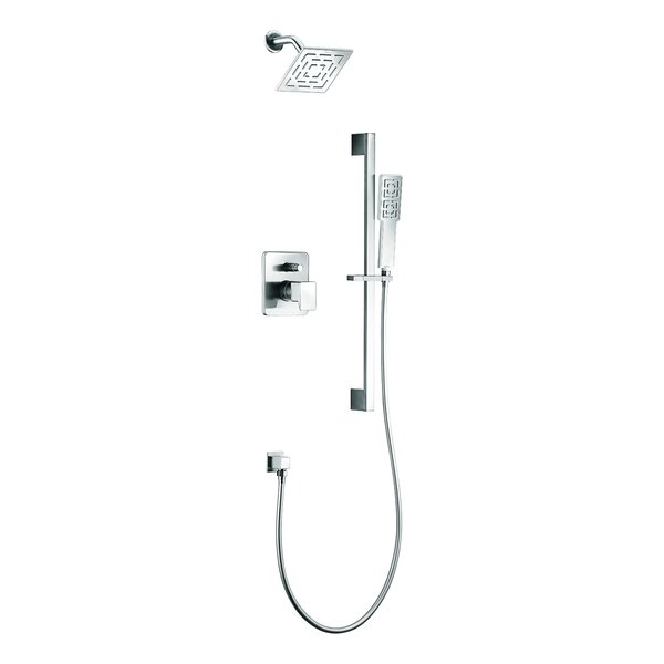 dawn usa acadia rain shower head complete shower system u0026 reviews wayfair