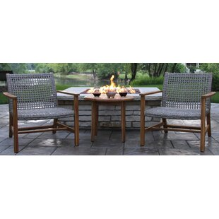 Tibbitts Teak 3 Piece Seating Group
