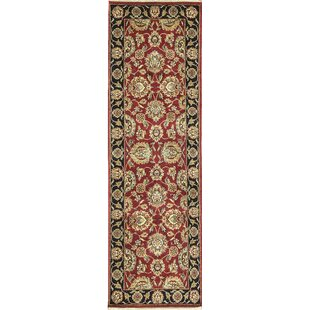 Great choice One-of-a-Kind Magnolia Handwoven Wool Red/Black Indoor Area Rug By Bokara Rug Co., Inc.
