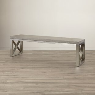 Catalan Upholstered Dining bench by Sunpan Modern