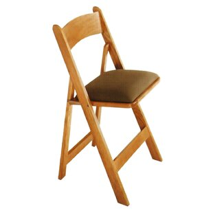 Maple Wood Padded Folding Chair  sc 1 st  Wayfair & Folding Chairs Youu0027ll Love | Wayfair